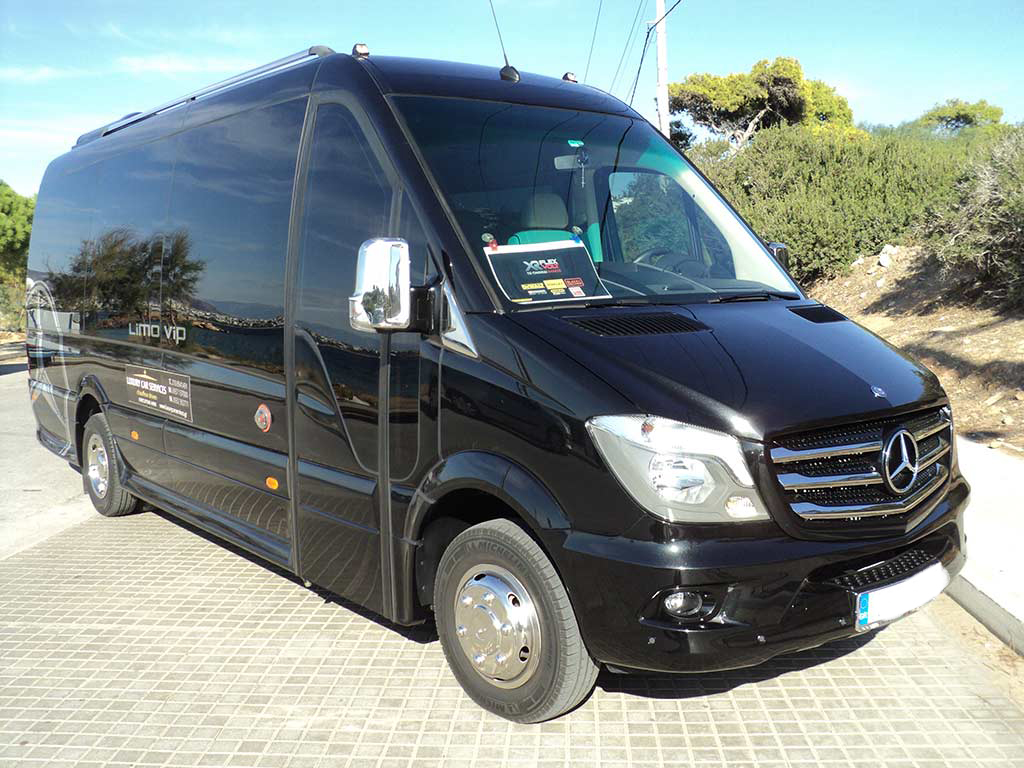 Luxury car services fleet mercedes bus 2 for Luxury mercedes benz sprinter
