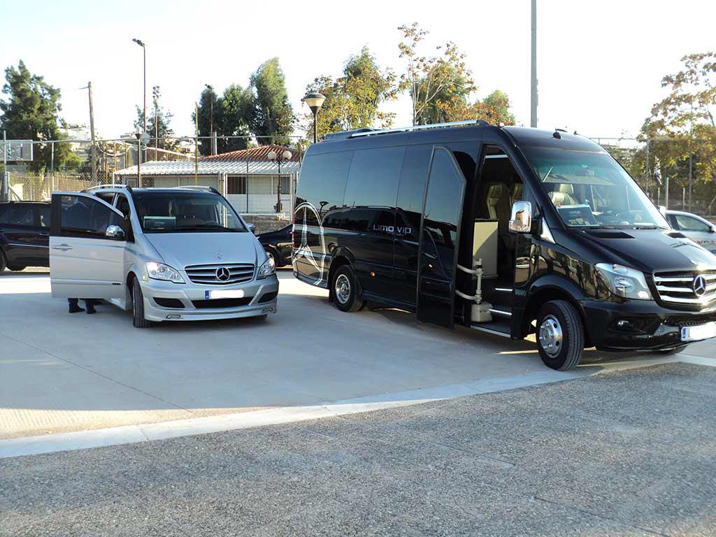 Luxury car services fleet mercedes bus 2 for Mercedes benz sprinter service locations